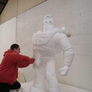 polystyrene sculpture Cornwall