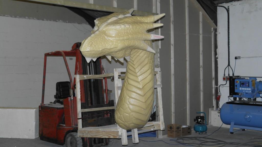 dragon coating appliaction