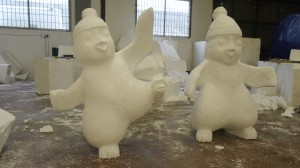 penguins - production process
