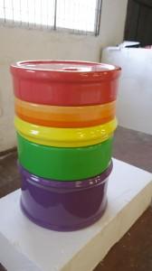 interactive puzzle - oil drum