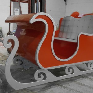 Santa's Sleigh - uk production