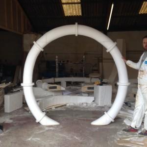 drain pipes - Theatre props