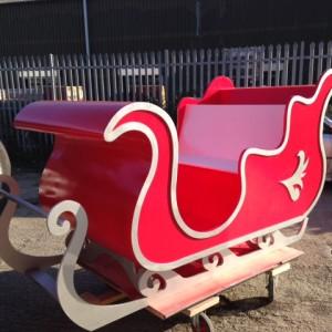 Santas sleigh National trust
