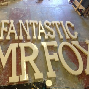 Fantastic mr fox letters