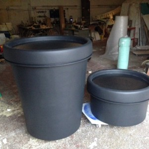 3d replica lush pots - special display props in the making