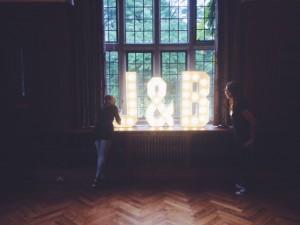 Light up letters custom made