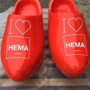 1m Dutch clogs we created for special display