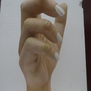 giant hand model