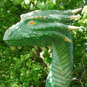 Life size Dragon 3d model