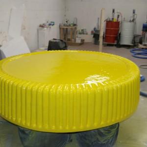 Giant Marmite lid prop