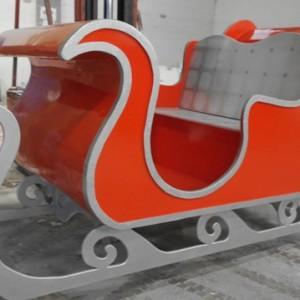 Custom life size Christmas sleigh