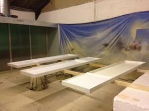 giant tray white