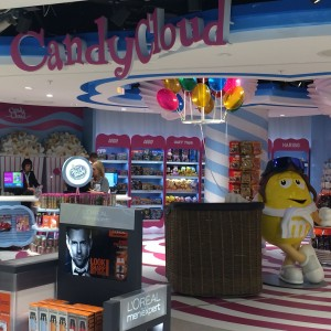 Finished project installed at destination in Candy Cloud - Dublin Airport