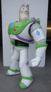 Buzz light Year replica - Click to view case study