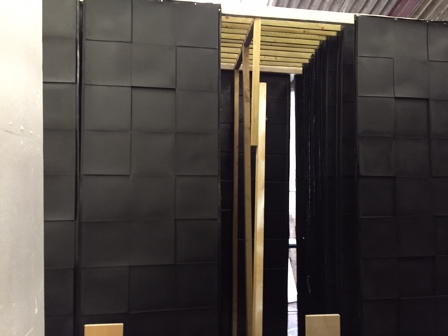 We created 60 Custom 3d panels made in the UK