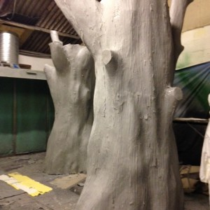 Artificial trees in the making