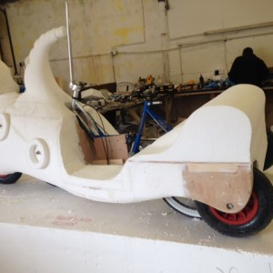Dr Seuss bike in the making