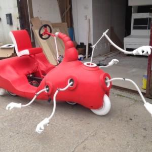 Dr Seuss bike in the making