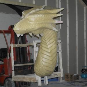 dragon coating appliaction