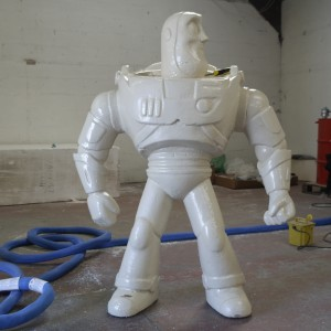 Polyurethane application Buzz light year
