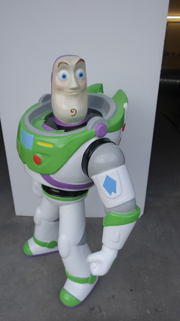Scaled up 3D MODEL BUZZ LIGHT YEAR