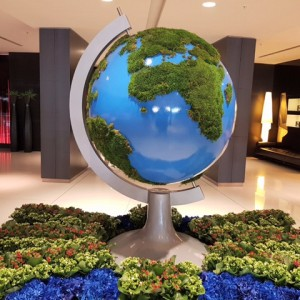 large globe prop