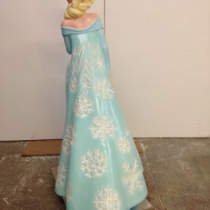 3d model Disney character Elsa from Frozen - Snowflakes