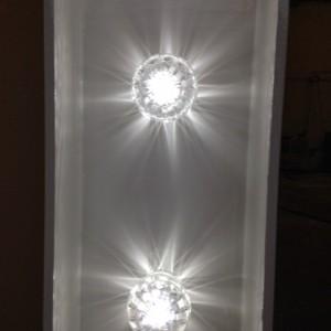 1.20m light up letters - led fairground lightbulbs