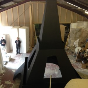 5m high College ball prop