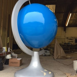 giant globe prop
