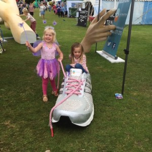 Giant props at play fest 2015