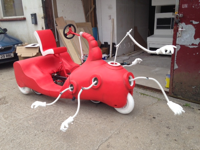We created a Dr Seuss car