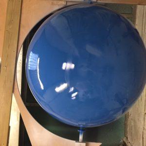 Globe shape in the making