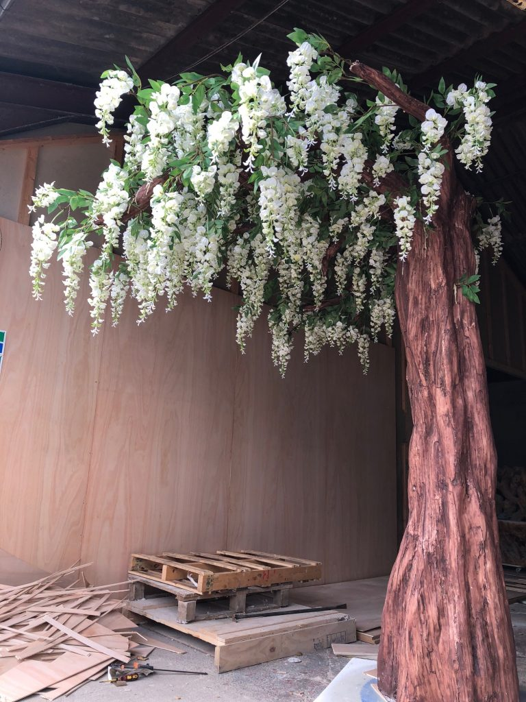 Artificial Wisteria tree