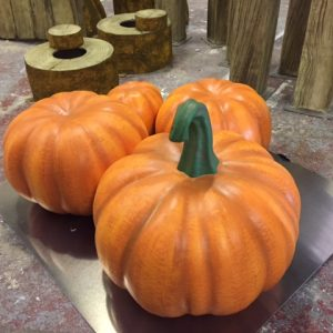 large pumpkin prps