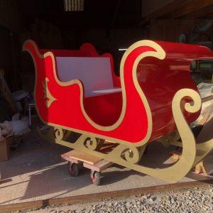 Santa's Christmas sleigh
