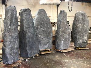 artificcial monolith stones
