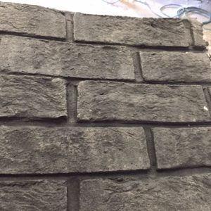 realistic brick effect panel