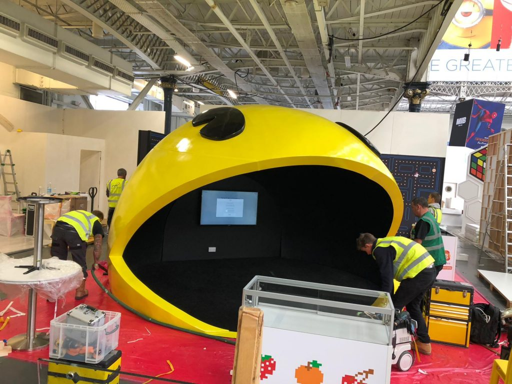 Pacman exhibition stand