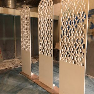 CNC routed classic panels