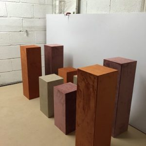 velvet plinths