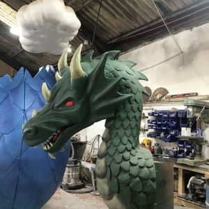 dragon prop